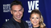 "Mike Sorrentino and Lauren Pesce at ""Marriage Bootcamp Reality Stars'"" Premiere Party"