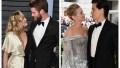 Miley Cyrus, Liam Hemsworth, Lili Reinhart, Cole Sprouse, Split Image