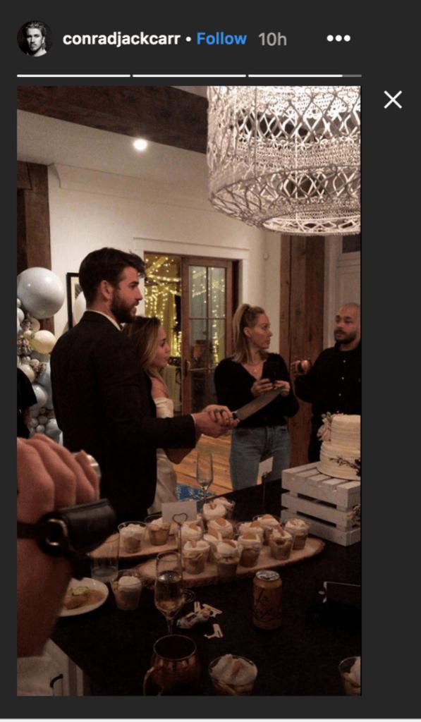 Miley Cyrus, Liam Hemsworth, Wedding