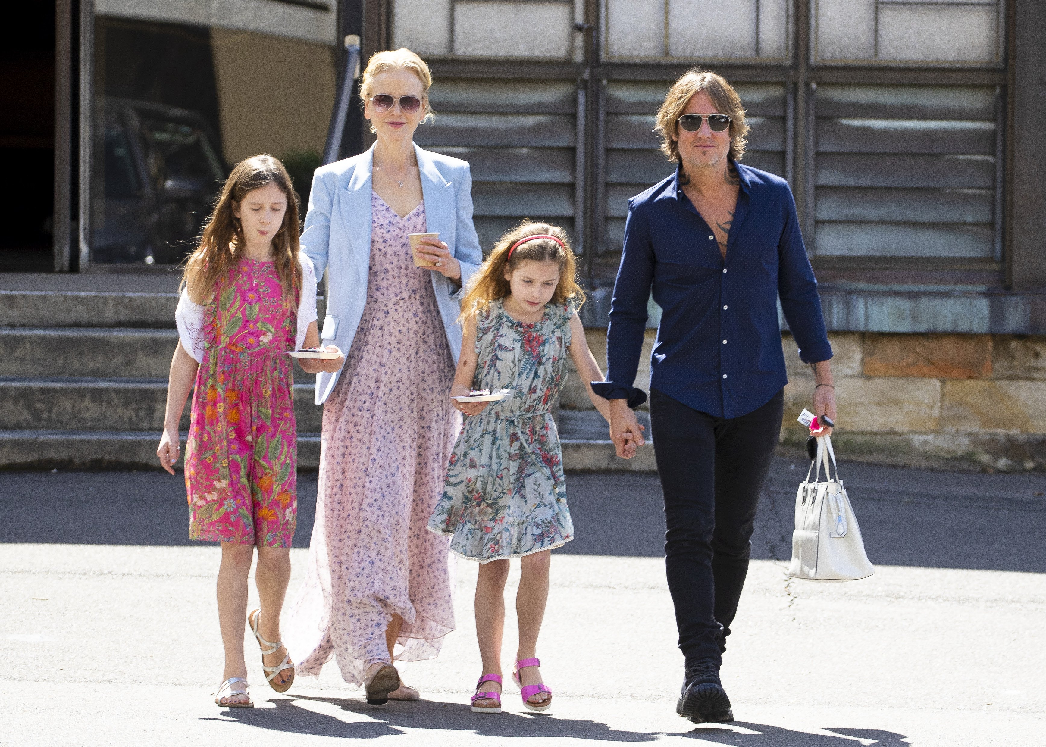Nicole Kidman And Keith Urban Spotted With Their Kids See Rare Pics