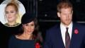 Prince Harry Meghan Markle Adele Hung Out