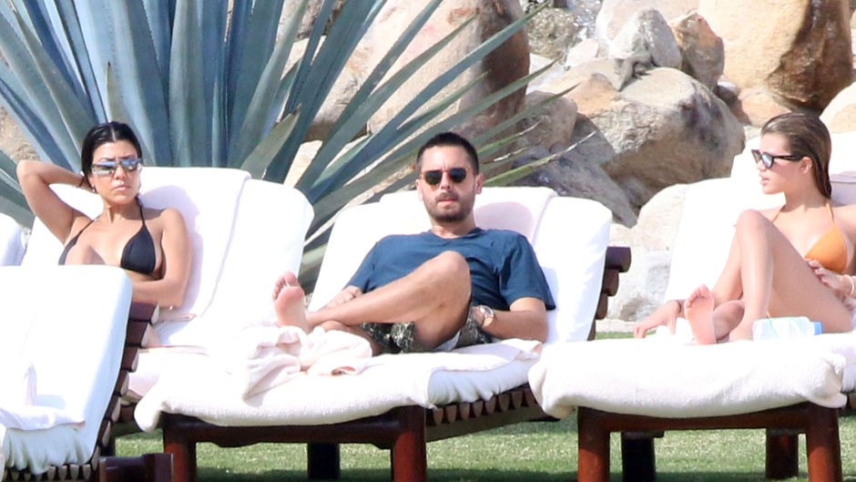 Scott Disick, Kourtney Kardashian, Sofia Richie Vacation