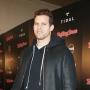 Kris Humphries, Posing, Leather Jacket, Smile
