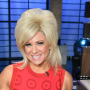 Theresa Caputo, Long Island Medium, Red Dress, Smiling