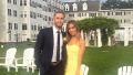 Shawn Booth and Kaitlyn Bristowe at a wedding together