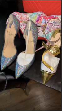 Cardi B Christmas gifts from Offset