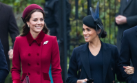 Kate Middleton, Meghan Markle, Christmas Celebration