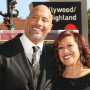The Rock, His Mom, Smiling, Posing