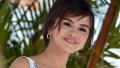 Selena Gomez smiling, close up