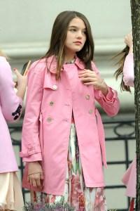 Suri Cruise, Grown Up, Pink Jacket, NYC