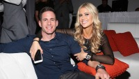 Tarek and Christina El Moussa Sit And Smile