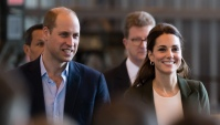 Kate Middleton teases Prince William about nightmare bad habits eating pizza on the couch