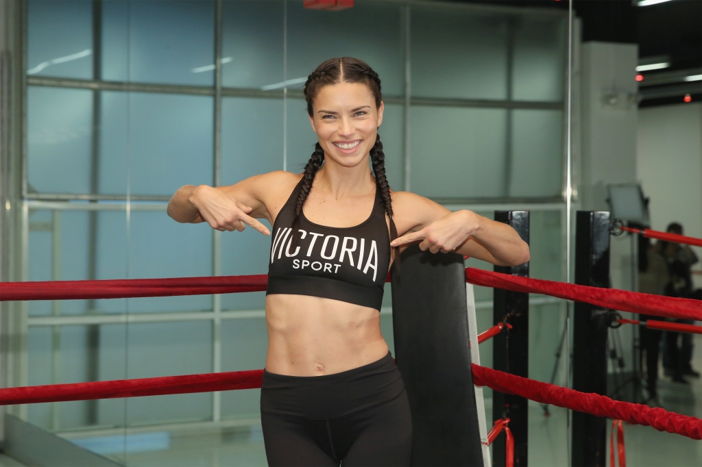 adriana lima fitness tips
