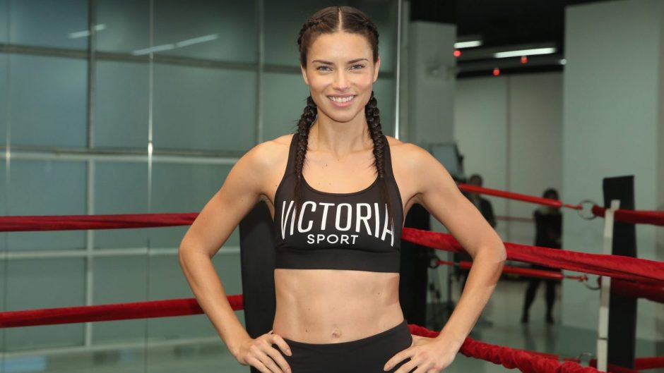 Train With The Victoria's Secret Angels - Adriana Lima