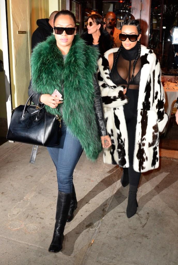 kim kardashian lala anthony friendship