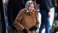The Queen Wraps Up To Keep Warm While Riding Public Train Ahead Of The Holidays