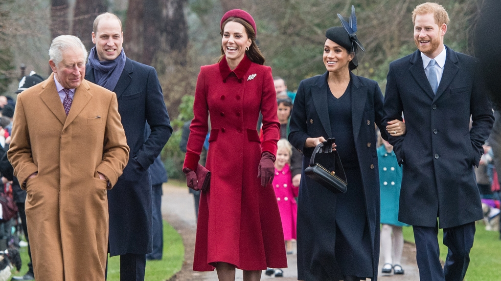 Royal Family Christmas Outfits