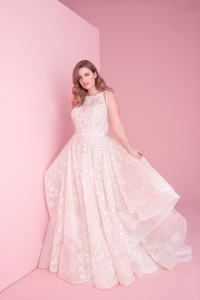 Hayley Paige size inclusive wedding dress