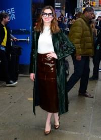 Celebrity Sightings In New York City - January 23, 2019