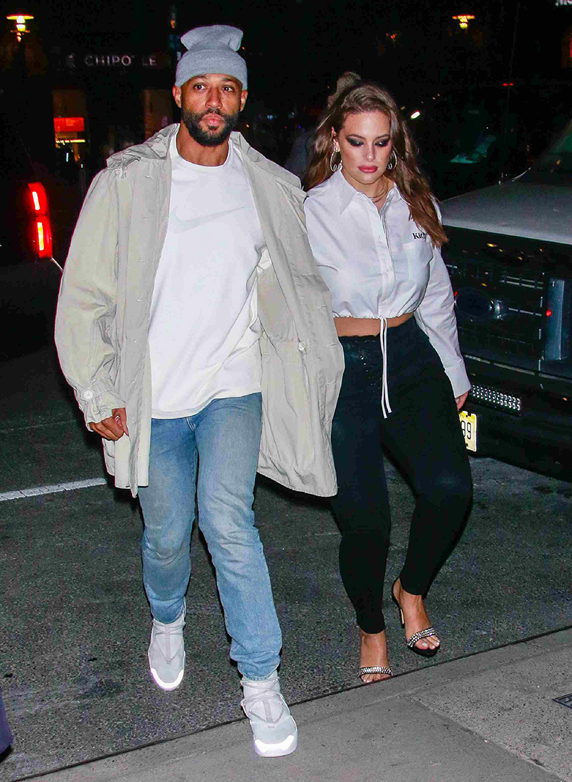 Ashley Graham Steps Out With Husband In New York City