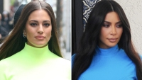 Ashley Graham Kim Kardashian Vibes Leaving the Today Show