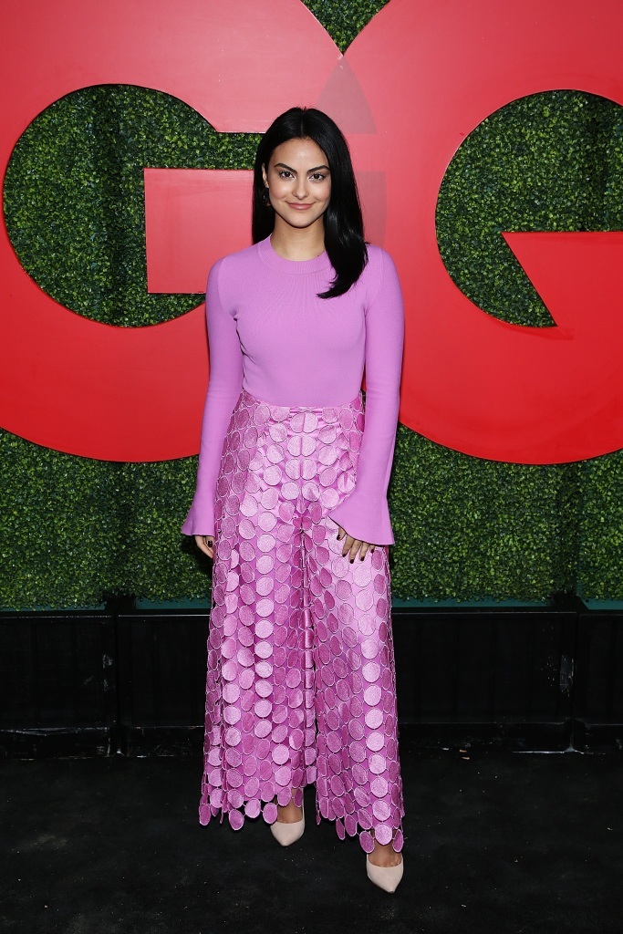 Camila Mendes attends the 2018 GQ Men Of The Year Party at Benedict Estate on December 6, 2018 in Beverly Hills, California.