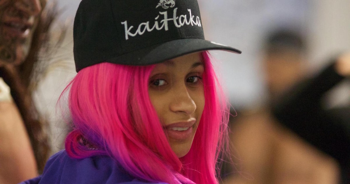 Pink And Purple Hair Styles: Cardi B's Pink And Purple Hair Looks Amazing On Her