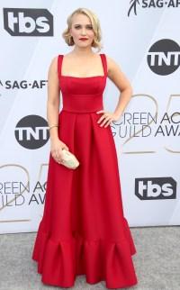 Celebrities Wearing Red Dresses Lili Reinhart Sandra Oh