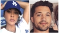 A split image of Kourtney Kardashian and David Dee Duron