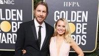 Dax Shepard Kristen Bell Golden Globes 2019