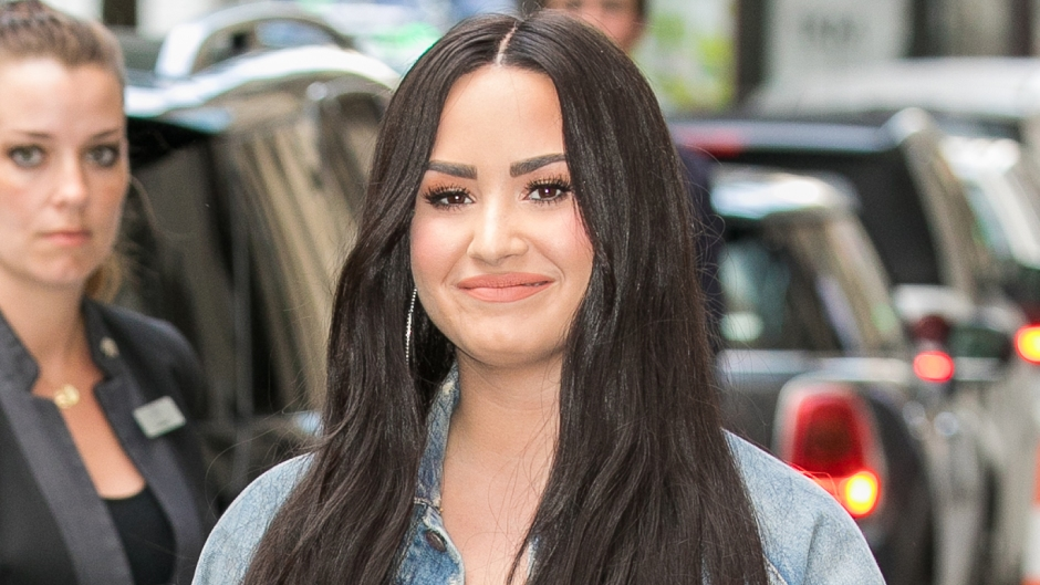 Demi Lovato Cant Stop Smiling On the Way To Romantic New year's Dinner With Henry Levy