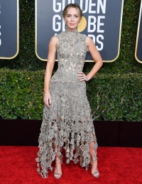 Emily Blunt Best Awards Shows Looks From Past Years Golden Globe 2019