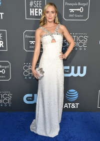 Emily Blunt Best Awards Shows Looks From Past Years Critics' Choice Awards 2019