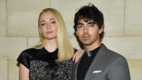 Joe Jonas Says 'Lucky Me' on instagram photo of fiancee Sophie Turner out to dinner