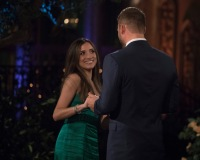 Nicole Lopez Alvar on the bachelor meeting colton for the first time