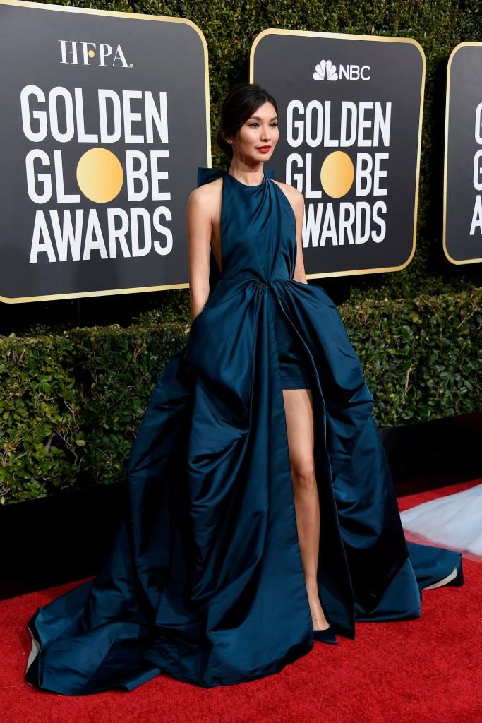 Gemma Chang at Golden Globes