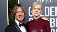Nicole Kidman Keith Urban 2019 Golden Globes PDA