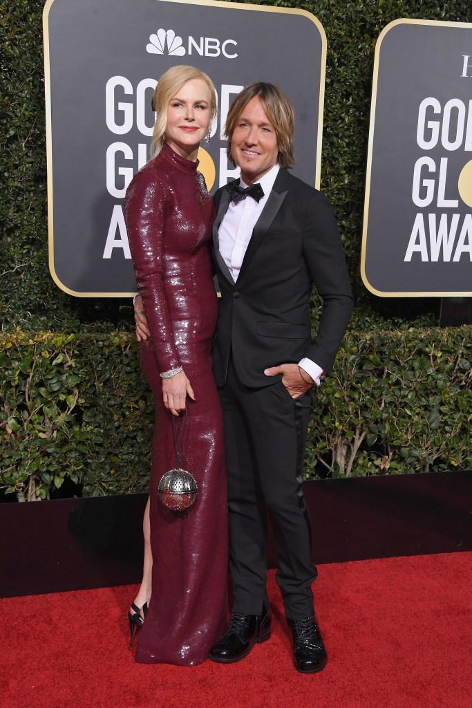 Nicole Kidman Keith Urban 2019 Golden Globes