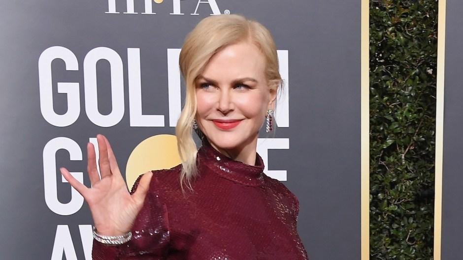 Nicole Kidmans hair at 2019 Golden Globes