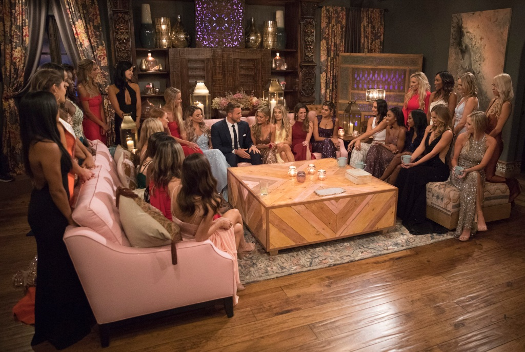 Colton Underwood the bachelor contestants