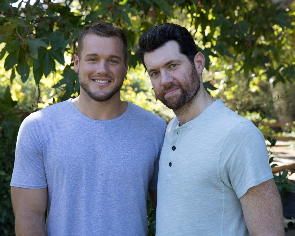 Billy Eichner with Colton Underwood on the show
