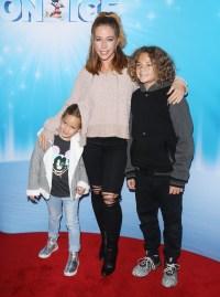 Kendra Wilkinson and kids