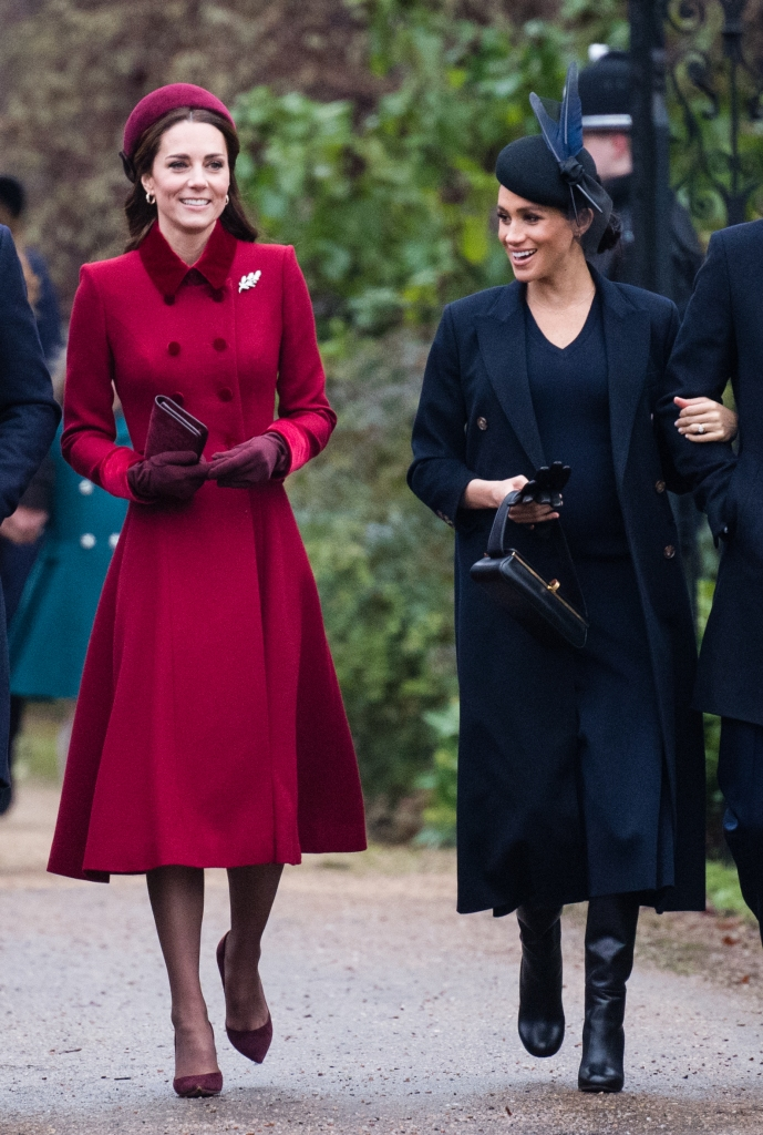 Kate Middleton, Meghan Markle, Walking