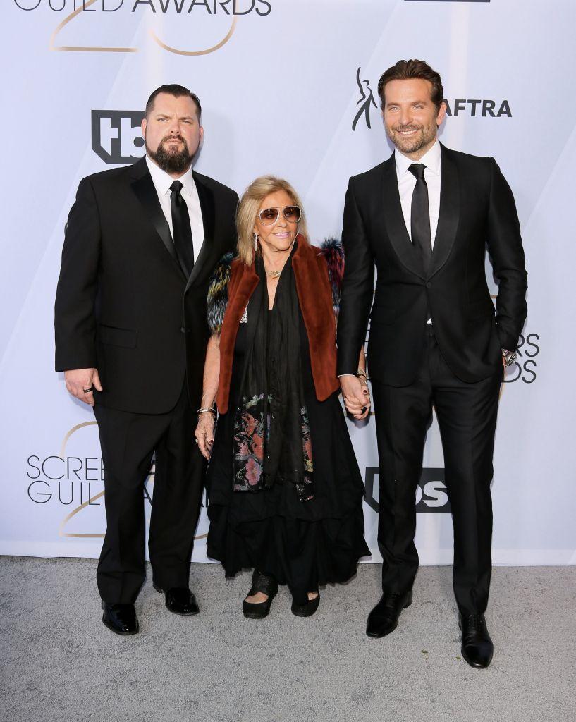 Bradley Cooper and his mom Gloria Campano,