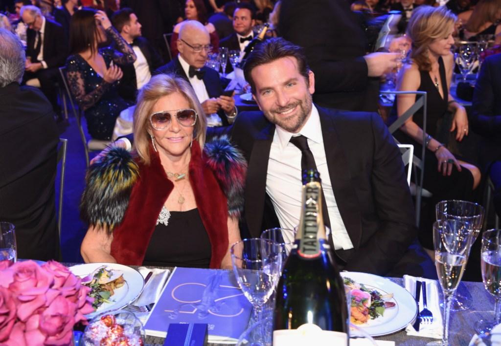 25th Annual Screen Actors Guild Awards Bradley Cooper and mom Gloria Campano