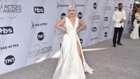 Lady Gaga white dress 2019 SAG Awards