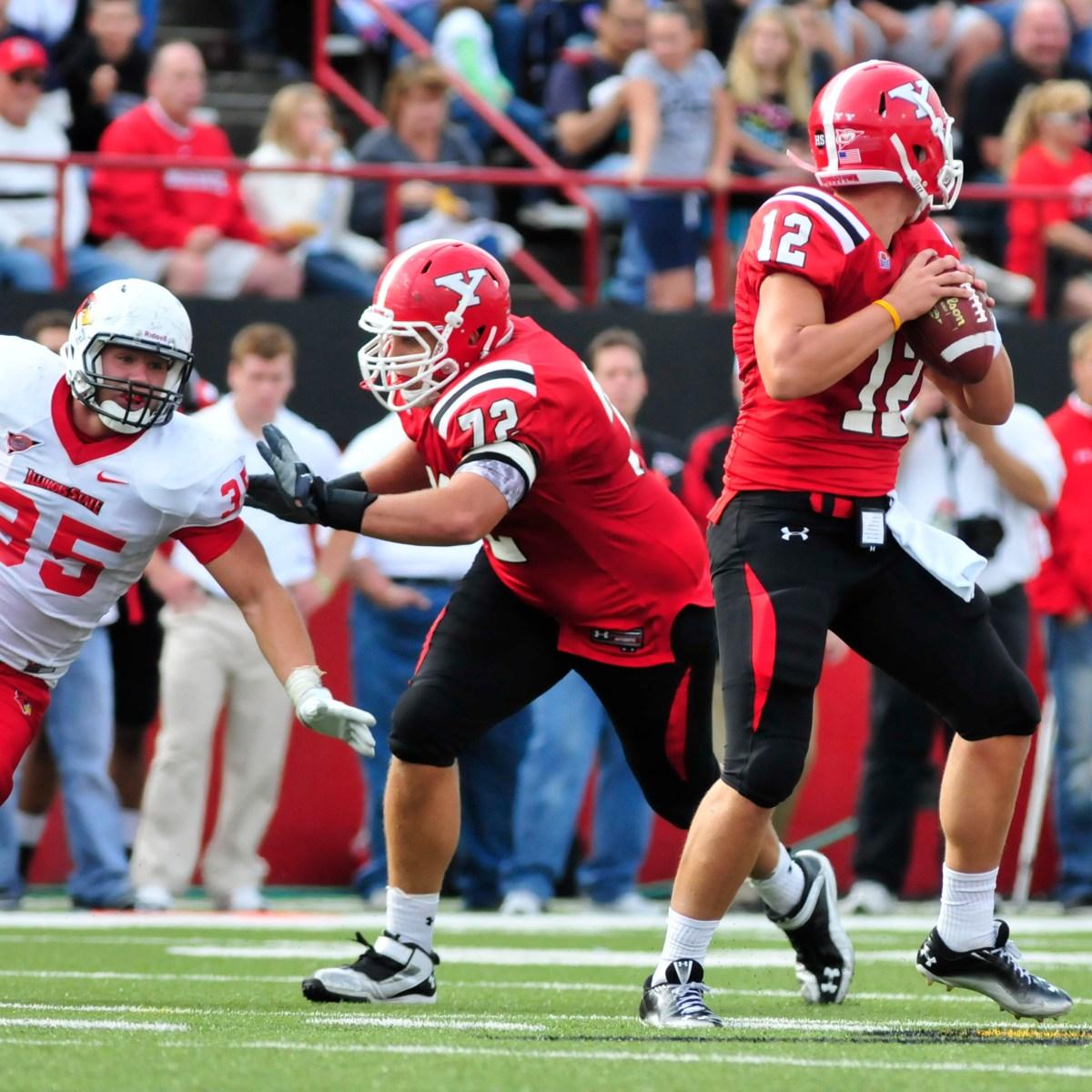 Colton Underwood Football Stats Illinois State