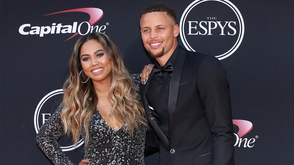Stephen Curry Ayesha Curry 10 year challenge throwback photo