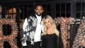 Khloe Kardashian with Tristan Thompson while she is pregnant