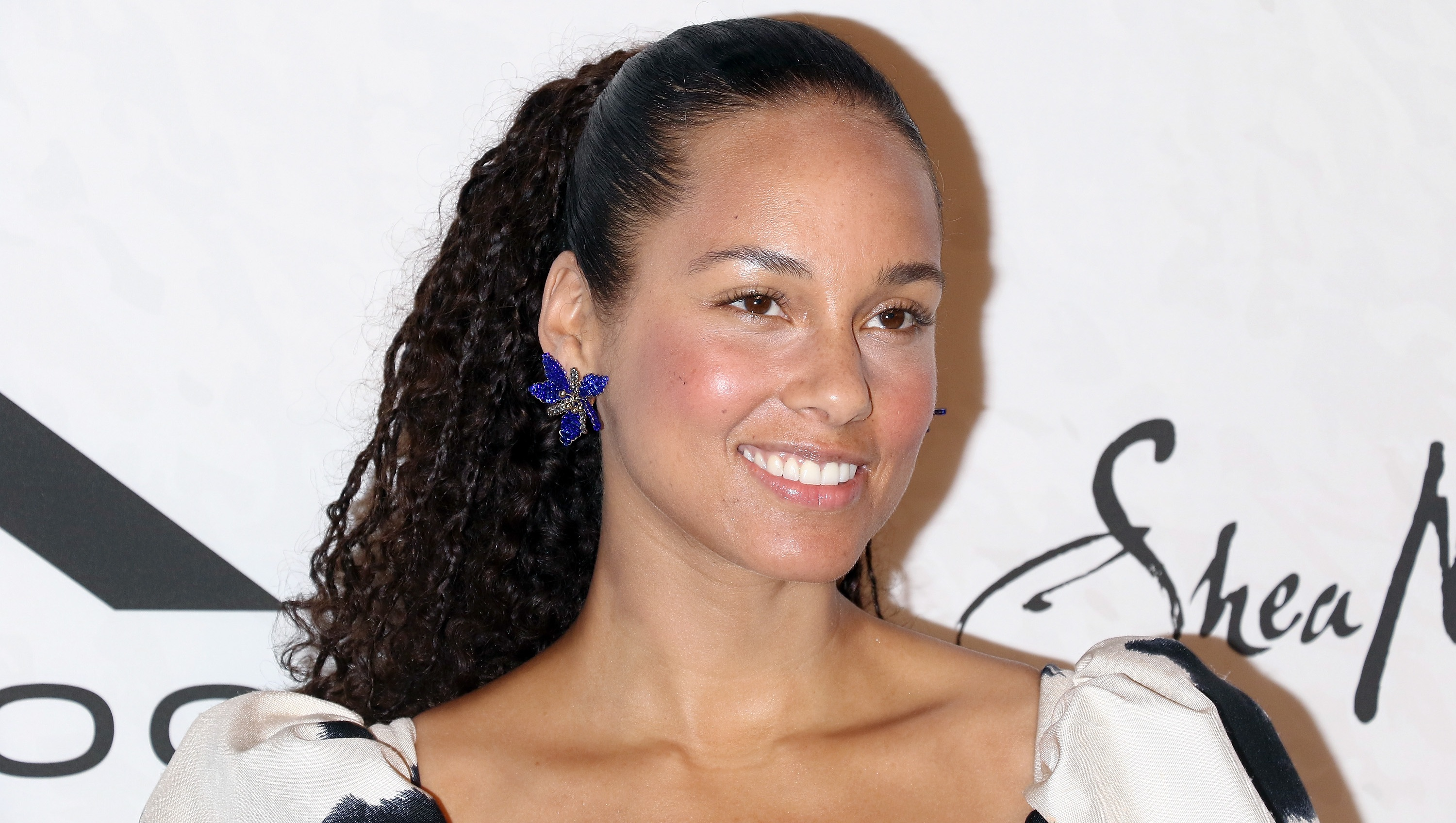 Singer/songwriter Alicia Keys attends the 2018 Variety's Power of Women: New York at Cipriani Wall